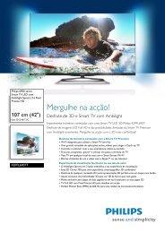 Leaflet 42PFL6907T_12 Released Portugal ... - Magnavox
