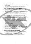Instruções de Operação - Relaxmedic - Page 5