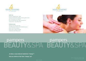 3222-2 FSV Beauty Leaflet - Four Seasons Vilamoura