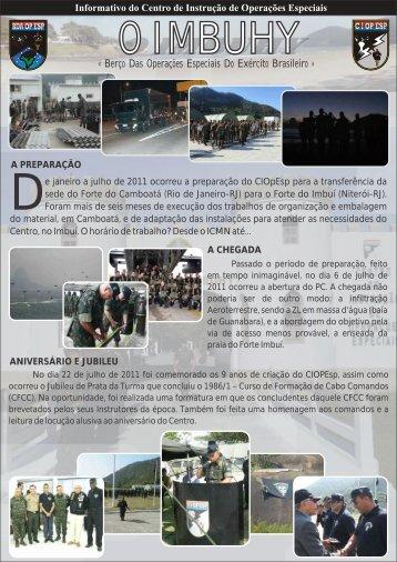 Jornal o imbuhy.cdr - Centro de Instrução de Operações Especiais