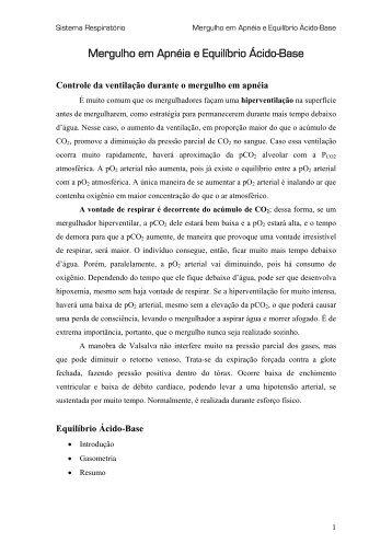 FISIOLOGIA – AULA DO DIA 17 - UFF