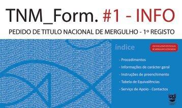 TNM_Form. #1 - INFO - Instituto do Desporto de Portugal