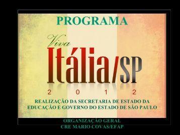 PROGRAMA - Centro de Referência em Educação Mario Covas ...