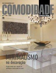 Minimalismo na Decoração Revista Comodidade ... - VCS Projetos