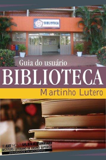 Guia do Usuário (Biblioteca) - ILES/ULBRA Itumbiara
