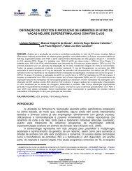 OBTENÇÃO DE OÓCITOS E PRODUÇÃO DE ... - Cesumar