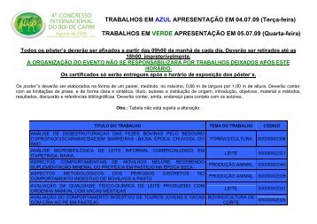 trabalhos em verde apresentao em 18 - RD Consultoria e Eventos