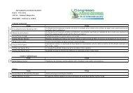 Apresentações em forma de pôster - Campus Rio Verde