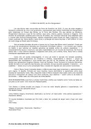 Release de imprensa - Editora Intrínseca