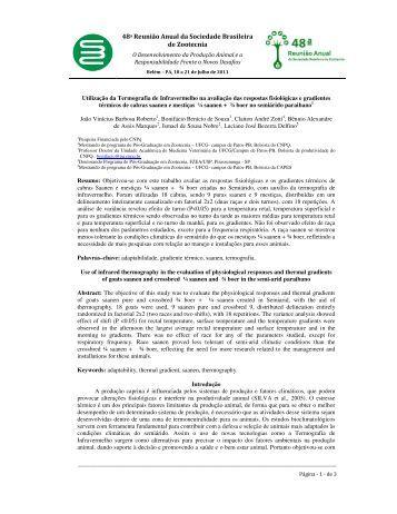 48a Reunião Anual da Sociedade Brasileira de ... - cstr - UFCG