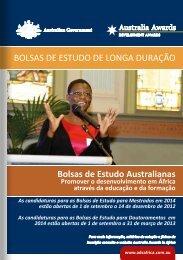 Bolsas de Estudo para Doutoramento - Australia Awards