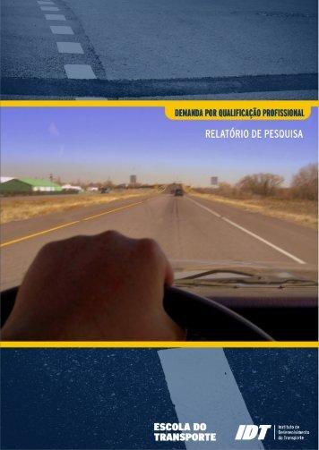 Demanda por qualificação - condutores de veículos - Escola do ...