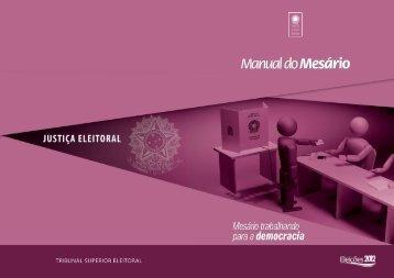 Manual do Mesário_a4.indd