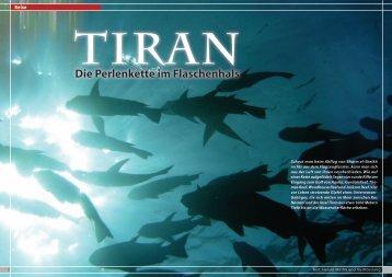 Tiran - Die Perlenkette im Flaschenhals - Dive Inside, April
