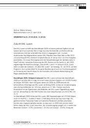 Medieninformation Zukunft KKL Luzern - Kultur- und ...