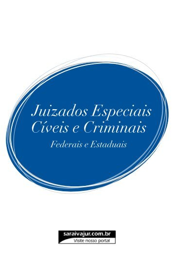 Juizados Especiais Cíveis e Criminais - Editora Saraiva