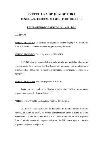 "grupo ""C"" - Prefeitura de Juiz de Fora"