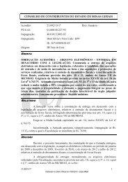 21092 - Secretaria de Estado de Fazenda de Minas Gerais