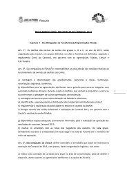 REGULAMENTO GERAL DOS DESFILES DO CARNAVAL 2013 ...