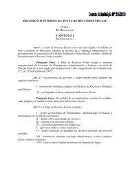 regimento interno da junta de recursos fiscais - palmas