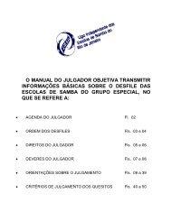 O MANUAL DO JULGADOR OBJETIVA TRANSMITIR ... - Liesa