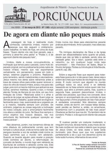 PROGRAMA DA SEMANA SANTA - Paróquia Porciúncula de Sant ...