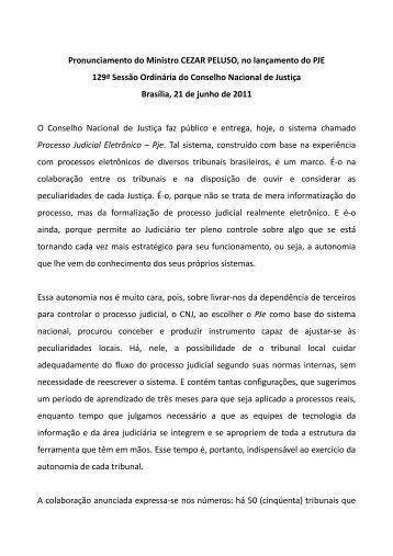 21 de junho de 2011 - Conselho da Justiça Federal