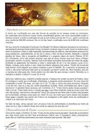 Lição 11 - Igreja Batista Central