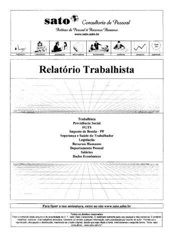 078 - Sato Consultoria de Pessoal