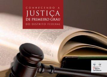 Conhecendo a Justiça de Primeiro Grau do Distrito Federal - TJDFT