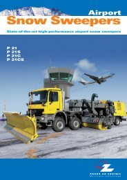 Snow Sweepers - Zaugg AG Eggiwil