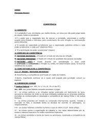 ESMEC Processo Penal I COMPETÊNCIA 1) CONCEITO → A ...