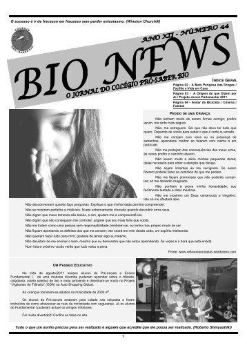 3° Bimestre de 2011 - Colégio Pró Saber Bio