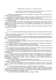 PORTARIA 1702-2004 GM - Conselho Regional de Nutricionistas