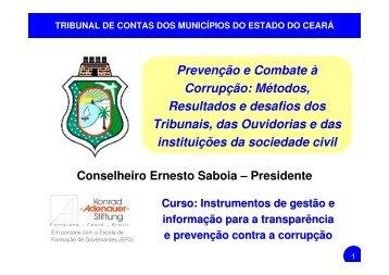 Prevenção e Combate à Corrupção: Métodos, Resultados e ...