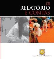 Relatório e Contas 2009 - Clube Português de Canicultura