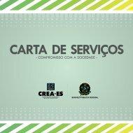 CARTA DE SERVIÇOS - Crea-ES