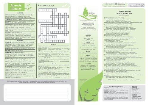 boletim 16-10-2011.pdf - Igreja Batista do Méier