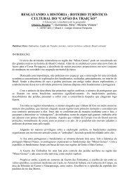 roteiro turístico-cultural do - EGAL 2009 - Programa on-line