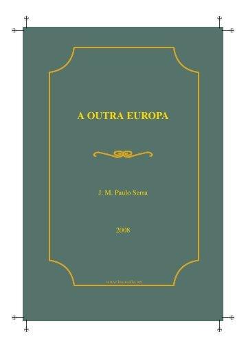 A OUTRA EUROPA - LusoSofia