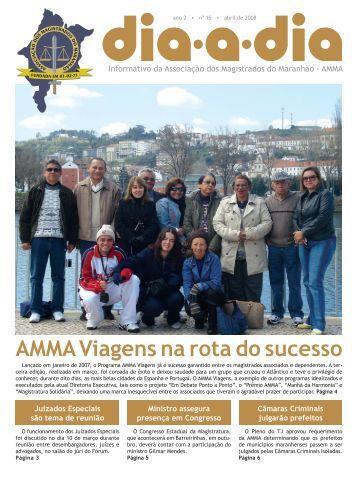 presença em Congresso - Associação dos Magistrados do Maranhão