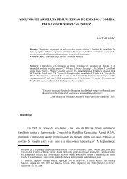 pontifícia universidade católica de minas gerais - Direito Internacional
