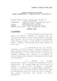 governo do estado de são paulo conselho estadual de educação ...