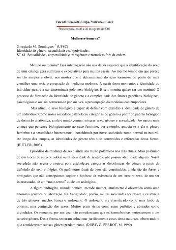 Giorgia de M. Domingues - Fazendo Gênero 10 - UFSC