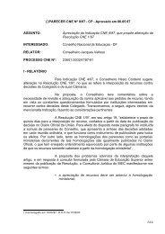 (*)PARECER CNE Nº 8/97 - Centro de Referência em Educação ...