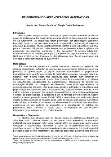 modelo – resumo expandido - Pró - Reitoria de Pesquisa e Pós ...