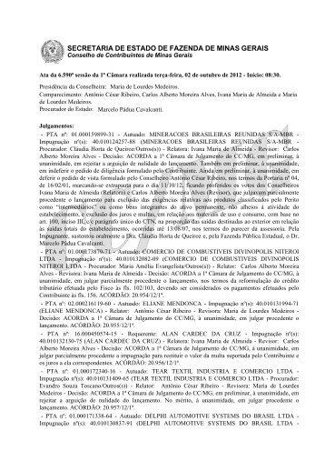 02 - Secretaria de Estado de Fazenda de Minas Gerais