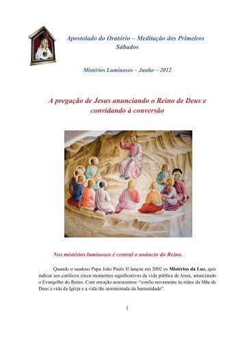 1º Sab_Junho2012 - Arautos do Evangelho