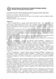 23 - Secretaria de Estado de Fazenda de Minas Gerais