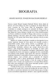 Conheça Abade Manoel Joaquim Machado ... - Freguesia Priscos